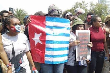 Demo Bawa Bendera Bintang Kejora Membisu, Banser Teriak Saat Ada yang Bawa Bendera Tauhid