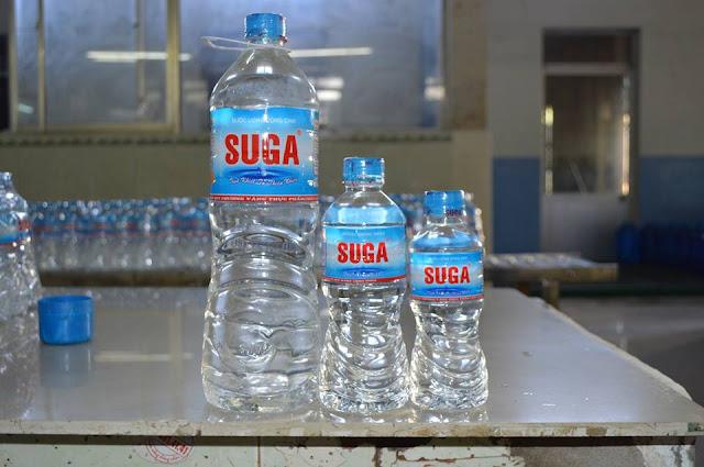 Nước uống tinh khiết đóng bình SUGA - Tri ân khách hàng