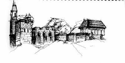 New York City Urban Sketchers: Central Park Sketch Crawl