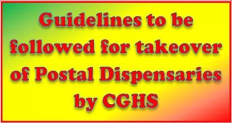 Guidelines-regarding-merger-of-33-Postal-dispensaries-with-CGHS