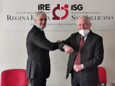 Prof. Gennaro Ciliberto, Istituto Tumori Regina Elena e il Prof. Giovanni Neri Associazione Mia Neri Foundation