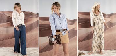 Moda 2020 - Moda verano 2020: Tendencias verano 2020 ropa de mujer: palazzos, blusas, vestidos, capris, pantalones y sacos engomados, moda verano 2020 mujer.
