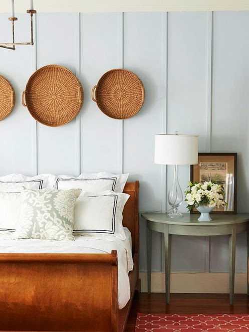 Bedroom design ideas decorating above your bed driven - How to decorate bedroom walls ...