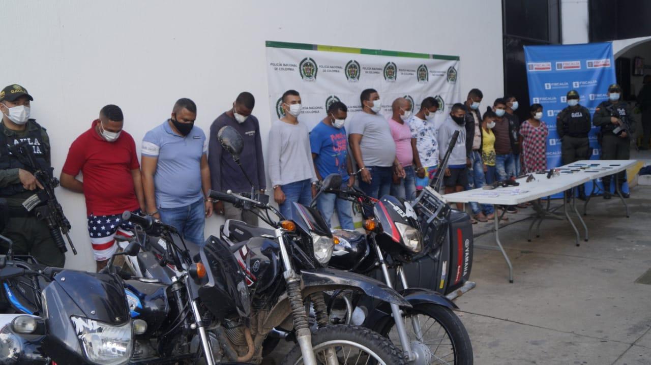 hoyennoticia.com, Cayeron otros 14 de 'Los Pachencas'