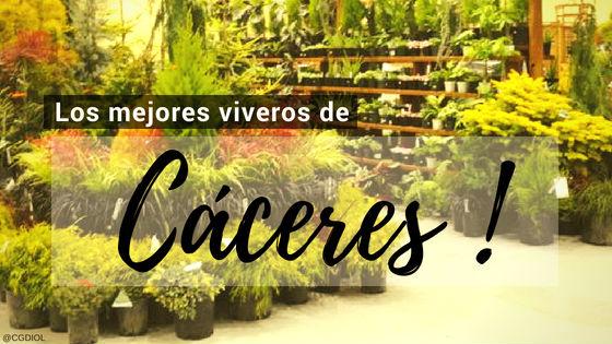 Listado de los Mejores Viveros de la Provincia de Cáceres, España, donde puedes comprar plantas para tus proyectos