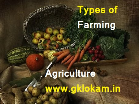 What is agriculture? Types of Farming in India