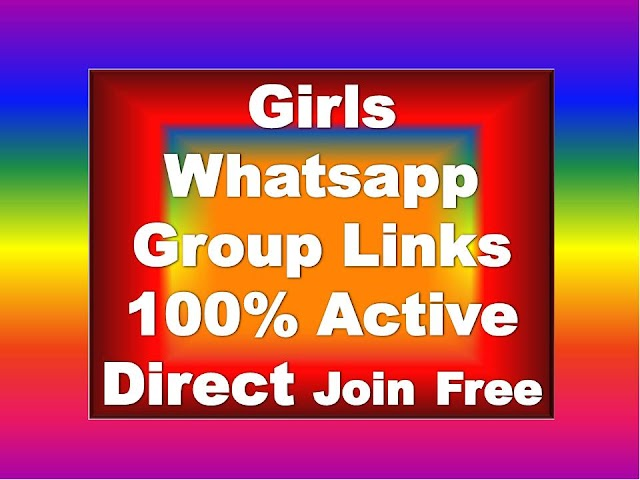 Girls Whatsapp Group Links