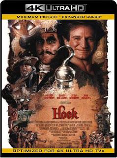 Hook, el retorno del Capitán Garfio [1991]4K 2160p UHD [HDR] Latino [GoogleDrive]