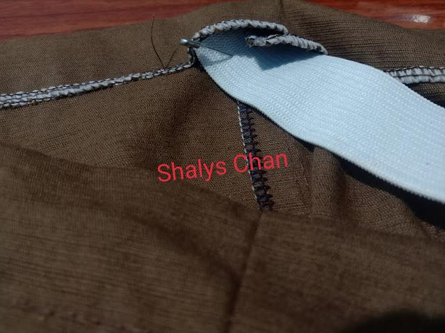 Cara Membuat Celana Kolor Panjang Anak