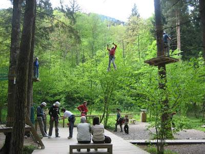Parchi avventura in provincia di Trento