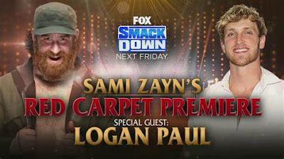 WWE Logan Paul Sami Zayn Kevin Owens
