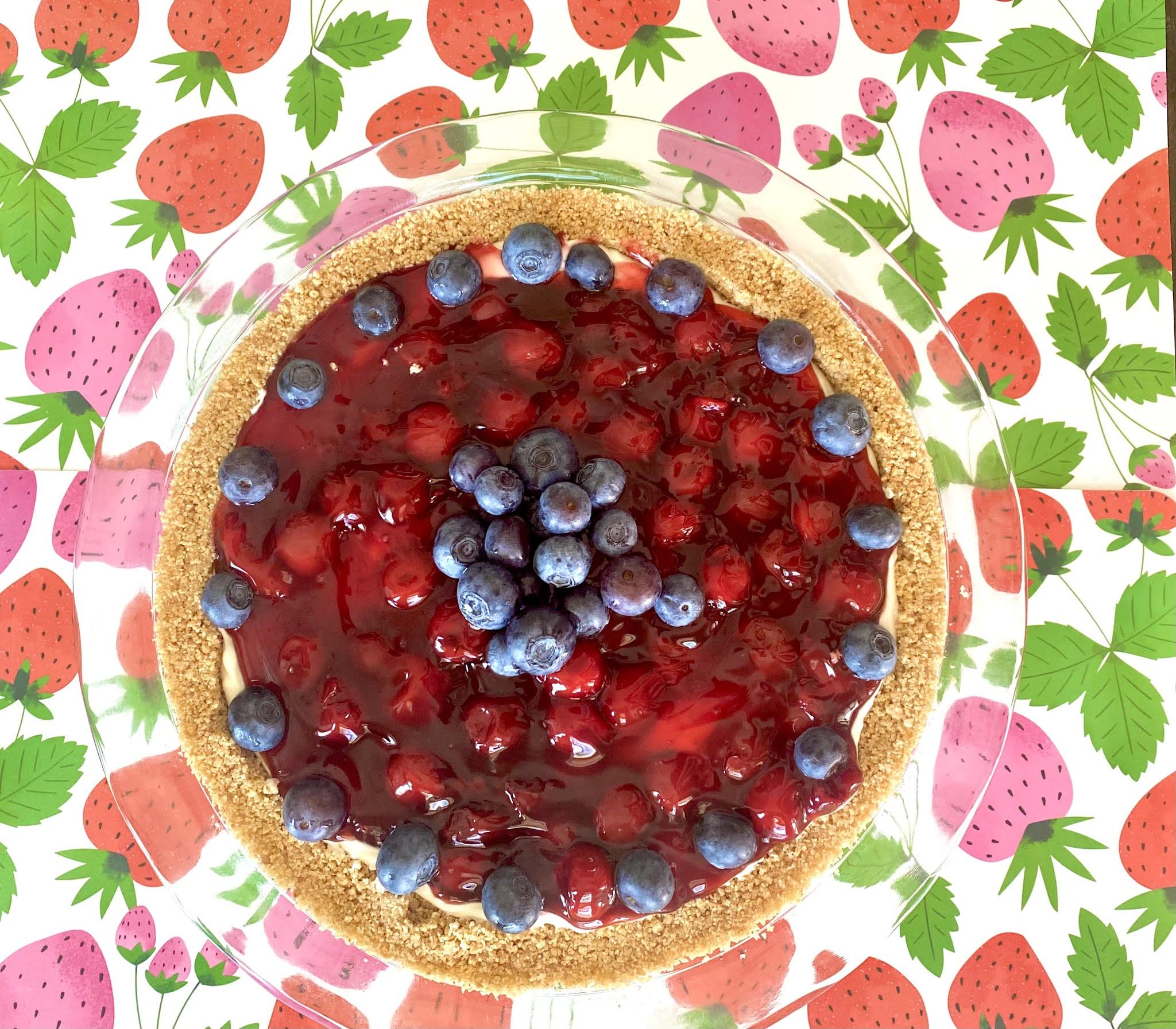 Easy No-Bake Patriotic Dessert