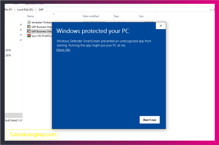 Tutorialengkap 2 cara mematikan smartscreen pada windows 10