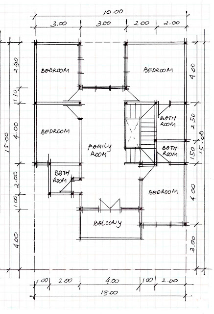 2nd floor plan of home image 16