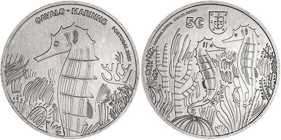 Portugal 5 euro 2021 - Seahorse