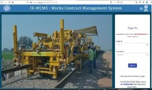 IR-WCMS: Indian Railway Works Contract Management  System