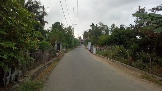 Penampakan Jalan Masjid