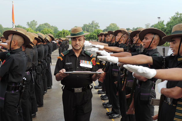 Fresh batch of 157 recruits of 39 GTC took oath