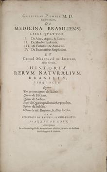 Livro - Historia_Naturalis_Brasiliae -Piso - Marcgraf - João de Laet