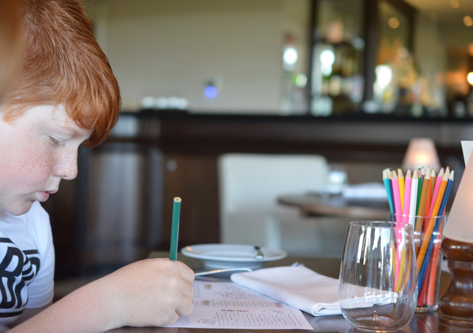 A Luxury Family Staycation at Rockliffe Hall Hotel  - children's activity sheet