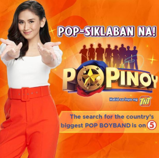 "TV5's ad for upcoming show ""PoPinoy"" has Sarah Geronimo's photo"