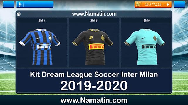 Kit Dream League Soccer Inter Milan Terbaru