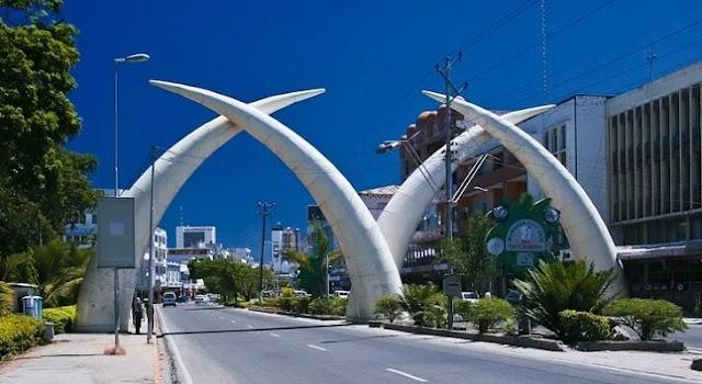 Mombasa County tusks. PHOTO   BMS