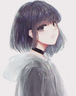 Anime Girl Short Hair Wallpaper