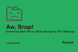 "Cara Mengatasi ""Aw, Snap! Something Went Wrong While Displaying This Webpage"" Di Google Chrome"