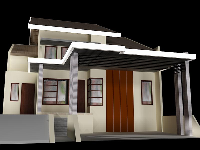 Contoh Desain iKanopii Beton Rumah iMinimalisi Terbaru
