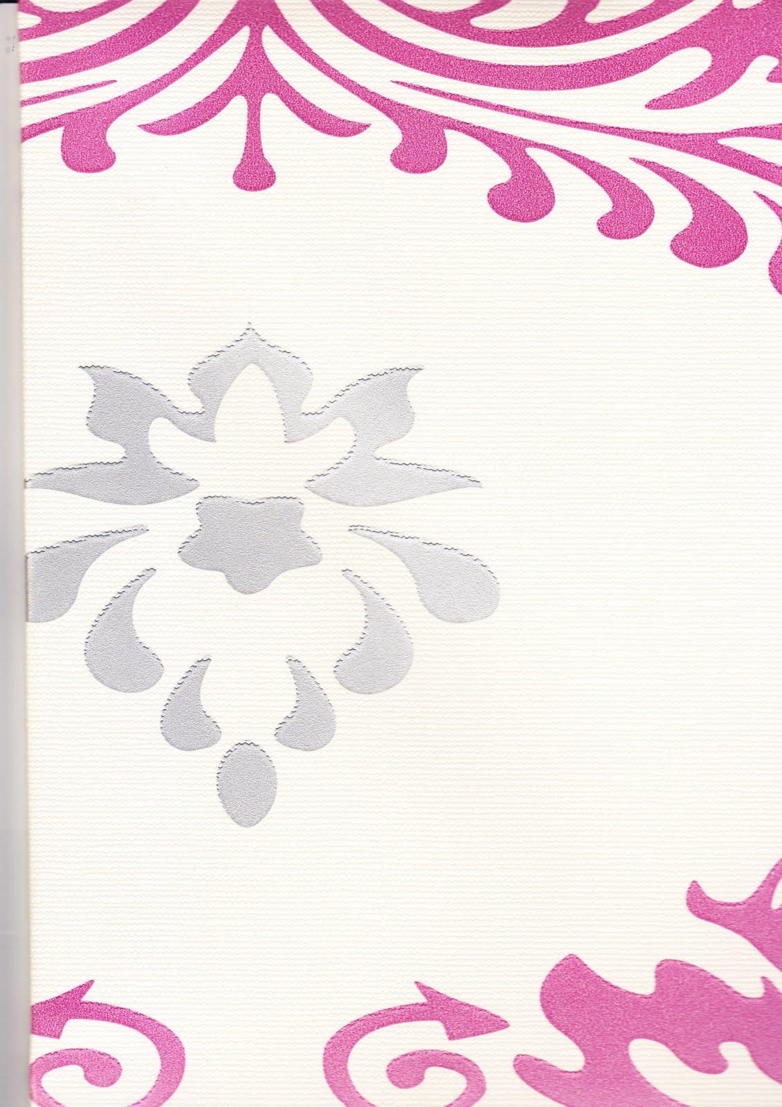 Taman Bunga dalam rumah dari hiasan wallpaper  BAITI