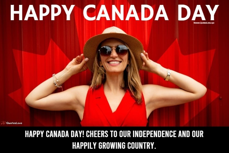 Happy Canada Day Quotes, Wishes, Messages, Greetings, Sayings, Images, Pictures, Photos, Poster, Wallpaper
