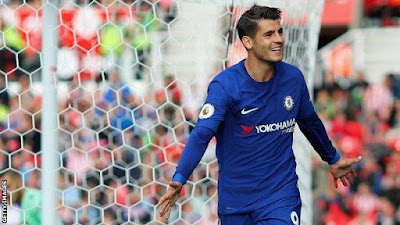 Man of the match - Alvaro Morata