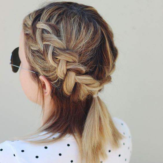 15 Tipos de peinados con trenzas que te encantarán OkChicas - Mejores Peinados Con Trenzas