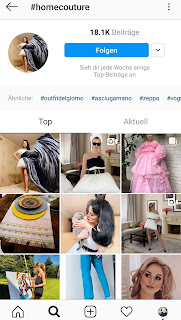 home couture instagram