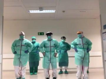 El baile viral al ritmo de Beyoncé de unos médicos que tratan pacientes con coronavirus