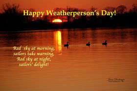 National Weatherperson's Day Wishes Images download