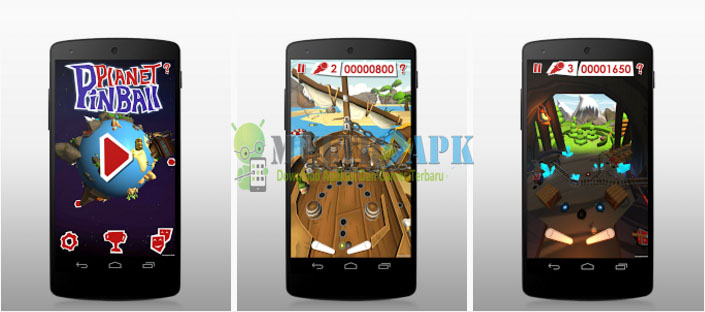Download Game Android Pinball Planet Apk Mod Stars v1.06 Terbaru
