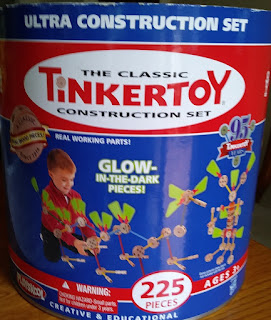 classic tinker toys construction set