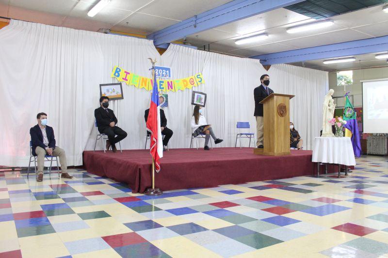 Inicio de actividades Colegio San Mateo