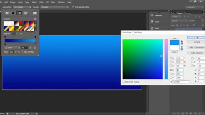 gradasi warna di phoshop