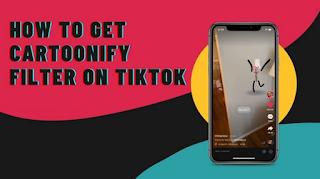 Cartoonify Filter Tiktok || Easy How to get Cartoonify Filter on Tiktok
