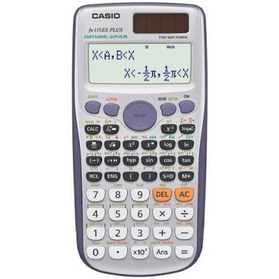 Kalkulator ilmiah Casio fx-115ES