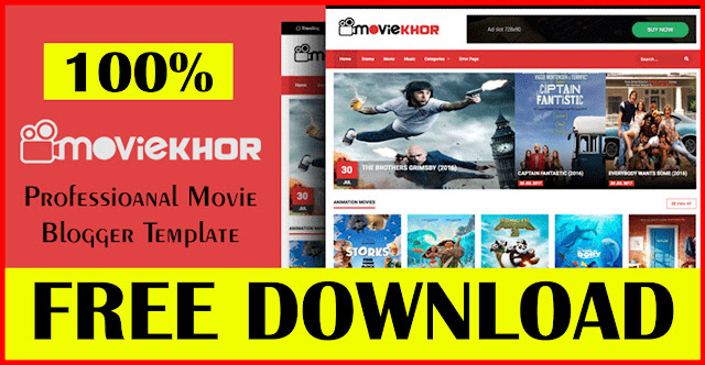 MovieKhor-Professional-Movie-Blogger-Template-download