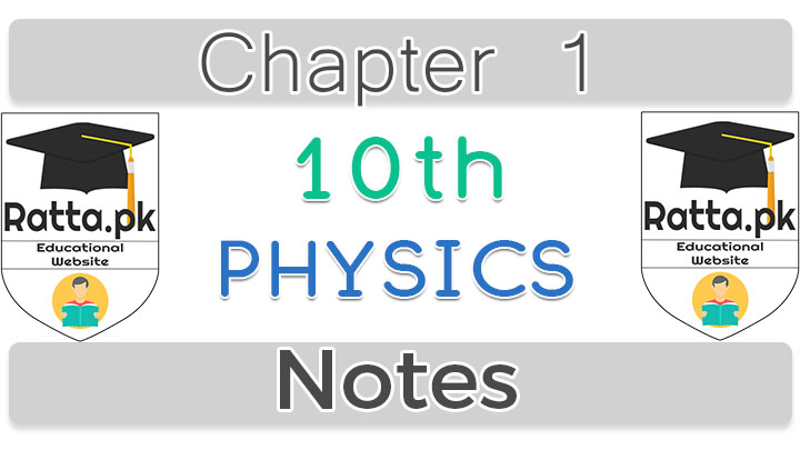 10th Physics Notes Chapter 1 Wave Motion