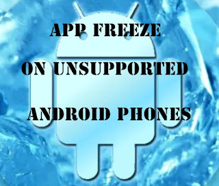 ARE THERE FEATURES LIKE THE INFINIX APP FREEZE ON OTHER ANDROID PHONES?