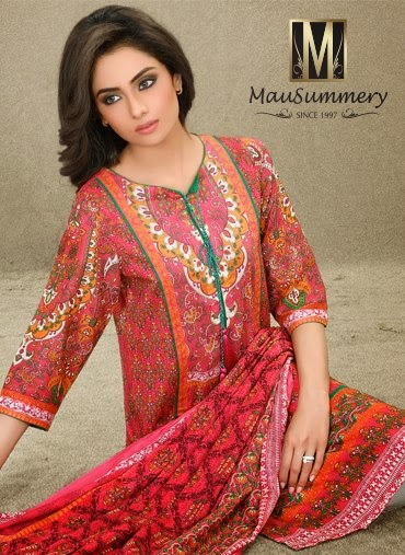 Mausummery S/S Lawn Collection 2015-16 For Women   Fashion