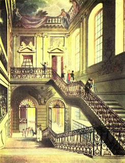 The hall and staircase of the British Museum