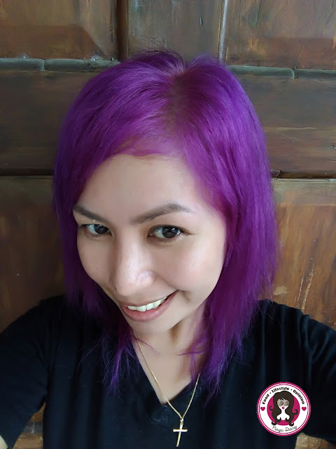 Manic Panic Purple Haze after One Week