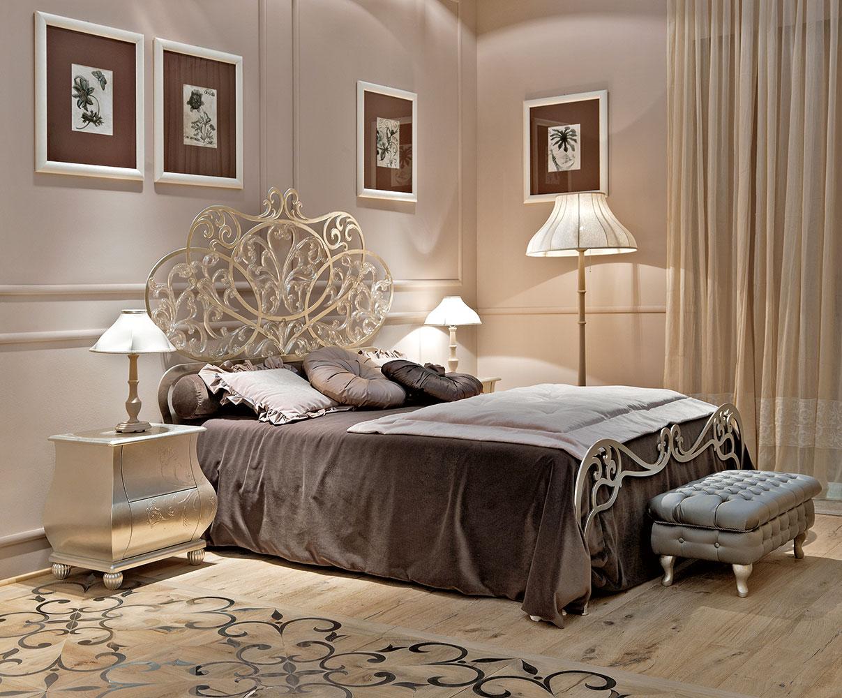 10 Quartos de luxo com cama de ferro  Decorao e Ideias